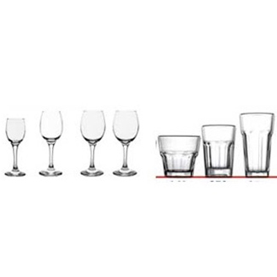 Drinking Glasses/Glassware for Ships ISSA Code: 17-01-01IMPA Code: 2500101